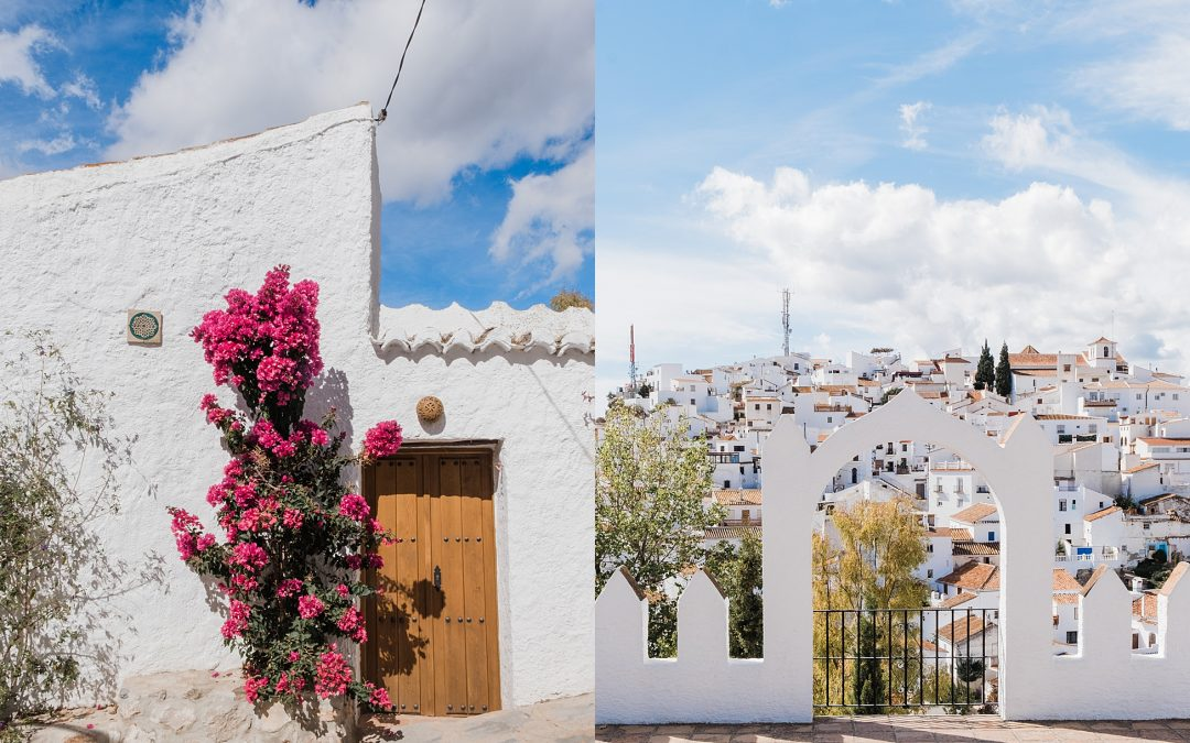 My favourite white washed villages | Malaga, Andalusia